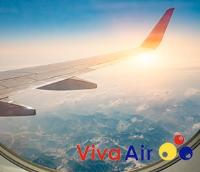 vuelos con/ Viva Air