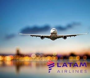 vuelos con/LATAM Airlines
